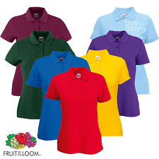 Fruit Of The Loom Lady Fit 65/35 Polo (63212)