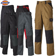 DICKIES WORK TROUSERS HIP KNEE PAD CARGO POCKETS DURABLE WORKWEAR TALL LEG SIZES