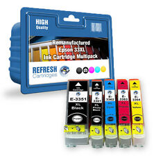 REMANUFACTURED (NON GENUINE) C13T33574010 33XL INK CARTRIDGE MULTIPACK FOR EPSON