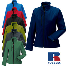 Russell 140F Ladies 3 Layer Soft Shell Water Resistant Smart Fit Womens Jacket