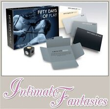 Fifty Shades Of Play Boardgame 50 Grey FSOG Adult Game For Couples Blindfold