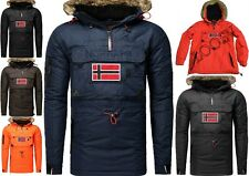 Geographical Norway Bronson Uomo Giubbotto Parka Giacca Veste Poncho Giaccone