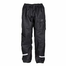 Spada Aqua Unlined Waterproof Windproof Motorbike Motorcycle Trousers Black