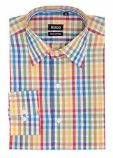 Modo Men's Regular Fit 100% Cotton Casual Shirt -Multi