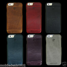 Pierre Cardin Italian Leather Back Case Cover for Apple IPHONE 6 & IPHONE 6S
