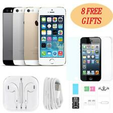 "Apple iPhone 5S Smartphone 4.0"" 4G LTE 3G iOS 9.3 OS Dual Core 16GB 8MP MT X9O1"