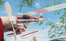 Rubber Powered Balsa & Foam Free Flight Model Aircraft /Planes Kids & Grown Ups