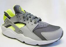 Nike Air Huarache Grey Lime Green Mens Trainers Deadstock 318429 070