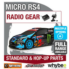 HPI MICRO RS4 [Radio Gear] Genuine HPi Racing R/C Standard & Hop-Up Parts!
