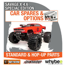 HPI SAVAGE X 4.6 SPECIAL EDITION [Spares & Options] New HPi Parts!