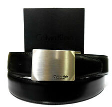 CINTURA UOMO IN PELLE DOUBLE FACE CALVIN KLEIN PRIMA LINEA COLLECTION ORIGINALE