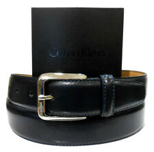 CINTURA UOMO IN PELLE CALVIN KLEIN PRIMA LINEA COLLECTION NUOVA ORIGINALE