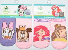 Disney Baby Socks Princess' Minnie Mouse Daisy Duck Girls Babies Ages 0 - 12 mon