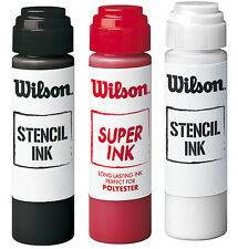 WILSON TENNIS STENCIL INK , TENNIS RACKET STRING STENCIL INK