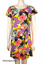 Cutie London Colourful Flora Print Dress