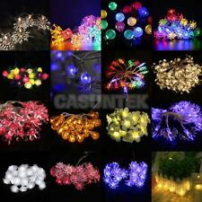 Various Shaped LED Battery Operated String Lamp Lights Christmas Wedding Decor