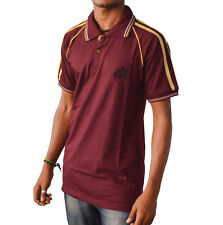 D Action Branded Imported, Half Sleeve, Polo Neck, Sports Slogan T Shirt For Men