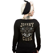 Johnny Cash Cardigan - Guns