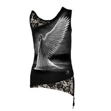 Spiral Girlie Top - Spirit Guide Shoulder Lace Vest