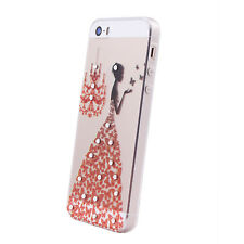 mStick Luxury Bling Diamond Transparent Soft Back Cover For Apple iPhone 6 / 6S