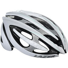 Lazer Helium Helmet Bicycle In Mould Ventilated White/Light Blue