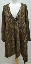 lagenlook Neslay  quirky layering Coat/ Jacket one size1-2 Bust  52-58""