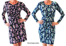 N & Willow Elegant Dress - Choice of Vison Blue or Vision Berries - Made in Ital