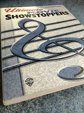Ultimate Movie Showstoppers Music Book For Piano Vocal Chords VGC