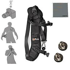 Fomito Focus F-1 Quick Rapid Shoulder Sling Belt Neck Strap & 2pcs Screw Moun...
