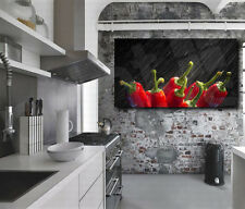 Juicy Red Pepper Canvas Art Poster Print Home Kitchen Wall Decor