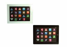 IPAD GLASS KITCHEN FOOD VEGETABLES MEAT FRUIT SLICING CUTTING CHOPPING BOARD