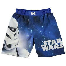 Boys Disney Star Wars Board Shorts Swimming Trunks age 2-3 new with tag