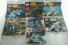 New Lego Star Wars polybags bundle  x 7 Rare Collection