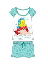 BNIP DISNEY MY LITTLE MERMAID ARIEL  SHORT PYJAMAS SIZES 8-22  100% COTTON