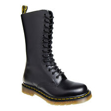 Dr Martens 1914 Boots Black Leather UK Smooth Unisex 141 Eyelet Airwair Shoes