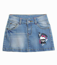 NEU  Monster  High  Rock  jeansblau  neu  mit  etikett  gr  140 - 164