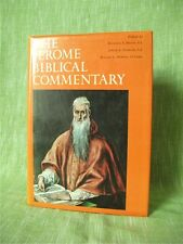 THE JEROME BIBLICAL COMMENTARY, 2 Vols in 1: Old and New Testament; Hardback