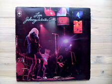 Live Johnny Winter And - Original 1971 UK Press Gatefold Vinyl LP