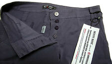 Pantaloni Donna Viola Denny Rose Made In Italy Trousers Violet 7480