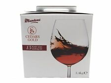 Cedars Gold 15 Bottle Wine Kits - Homebrew Home Brew 4 Styles Red White & Rose