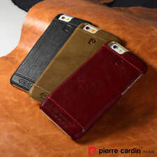 ★ORIGINAL★ Pierre Cardin Leather Back Cover Case Cover for Apple iPhone 5S