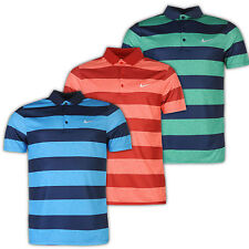 Nike Dri-Fit Bold Stripe Polo Shirt Poloshirt Herren Golf Fitness S-2XL Neu TP3