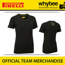 Sale! Pirelli P Zero F1 Racing Motorsport Ladies T-shirt Womens Sizes S-XL Black