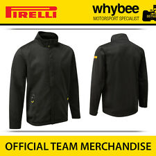New! Pirelli P Zero F1 Racing Motorsport Mens Black Softshell Jacket S-XXL Black