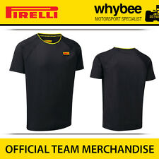 New! Pirelli P Zero F1 Racing Motorsport Mens Technical T-shirt All Sizes Black