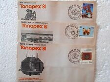 3 Special Covers SET - TANAPEX 1981 india MADRAS - se17
