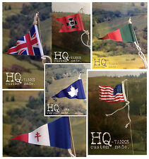 1/16 Scale Rc Tank & Vehicles Antenna Flags Pennants for Heng Long / Tamiya