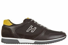 HOGAN SCARPE SNEAKERS UOMO IN PELLE NUOVE INTERACTIVE H 198 SLASH H FLOCK MA BDF