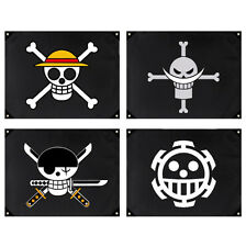 One Piece Piraten Fahne Flagge Flag Anime Ruffy Edward Trafalgar Roronoa Law