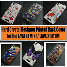 Designer Crystal Hard Back Case Cover For Lava Iris X1 Mini / Lava Iris X1 Atom